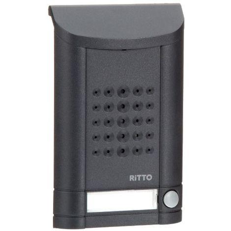 RITTO 1271941MINI VOX STATION DE PORTE (1BOUTON) ANTHRACITE