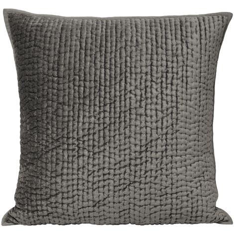 Riva Home Brooklands Cushion Cover (55x55cm) (Graphite)