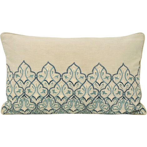 Riva Home Burlington Cushion Cover (30x50cm) (Blue)