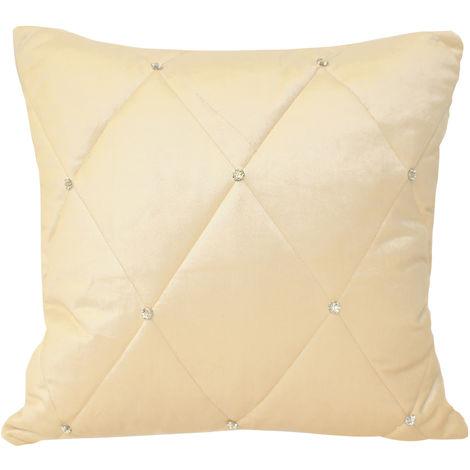 Riva Home Diamond Cushion Cover (45x45cm) (Cream)