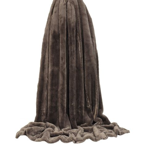 Riva Home Empress Faux Fur Throw