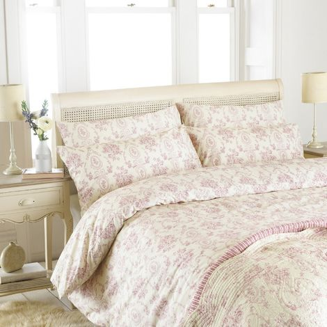Riva Home Etoille Floral Pattern Duvet Cover Set (200 Thread Count)