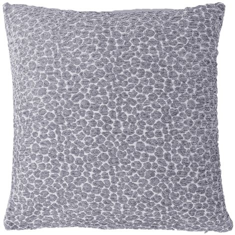 Riva Home Leo Chenille Leopard Print Polyester Filled Cushion