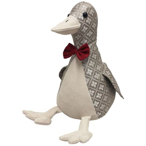 Riva Home Novelty Jaquard Duck Doorstop (One Size) (Multi)