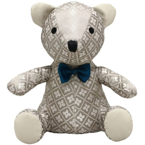 Riva Home Novelty Jaquard Teddy Doorstep (One Size) (Multi)