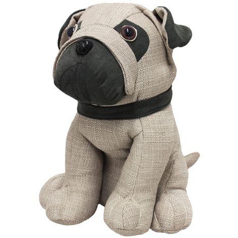 Riva Home Pug Türstopper (Einheitsgröße) (Bunt)