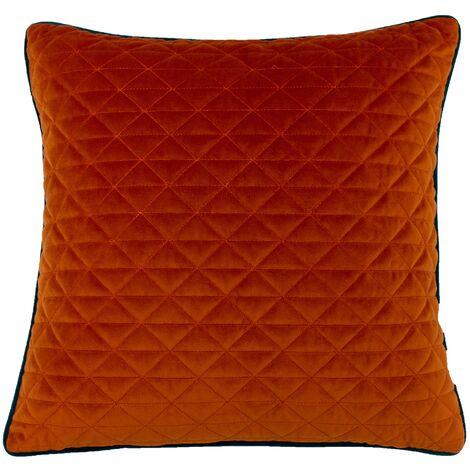 Riva Home Quartz Cushion Cover with Geometric Diamond Design