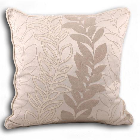 Riva Home Tasmin Cushion Cover (45x45cm) (Cream)