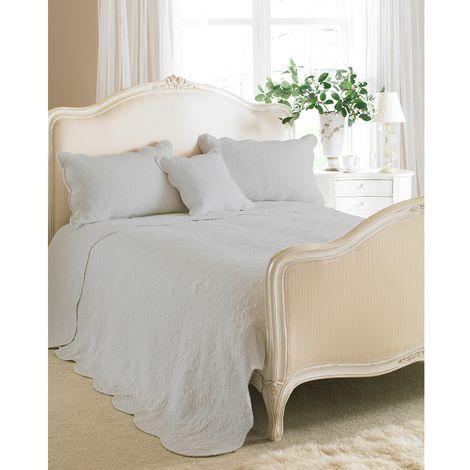 Riva Home Toulon Bedspread (Single) (Grey)