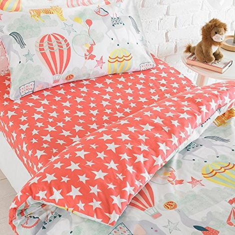Riva Home Vintage Circus Fitted Sheet