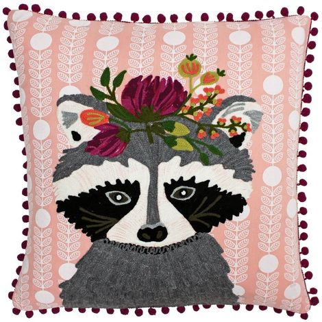 Riva Paoletti Funky Animal Polyester Fill Cushion