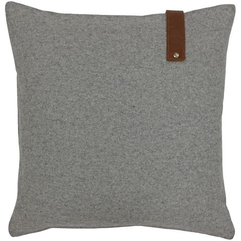 Riva Paoletti Hoxton Cushion Cover (45x45cm) (Grey)
