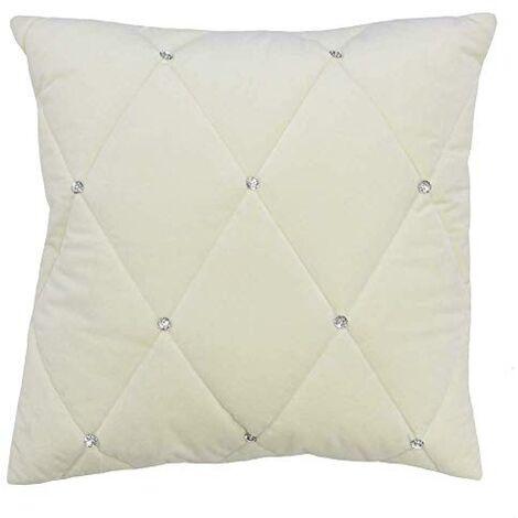 Riva Paoletti New Diamante Cushion Cover
