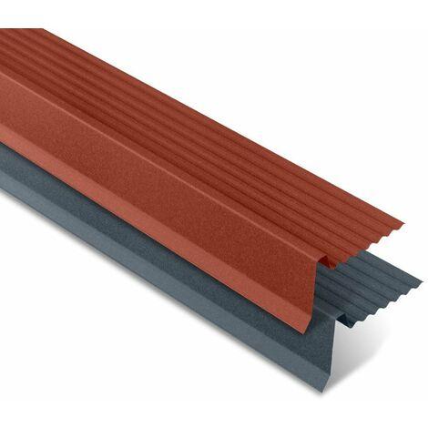 Rive ajustable mat texturé pour panneau imitation tuiles - IRIS®