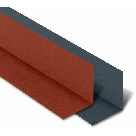 Rive Contre Mur 2100 mm pour tôle tuiles BACACIER Tuile R®