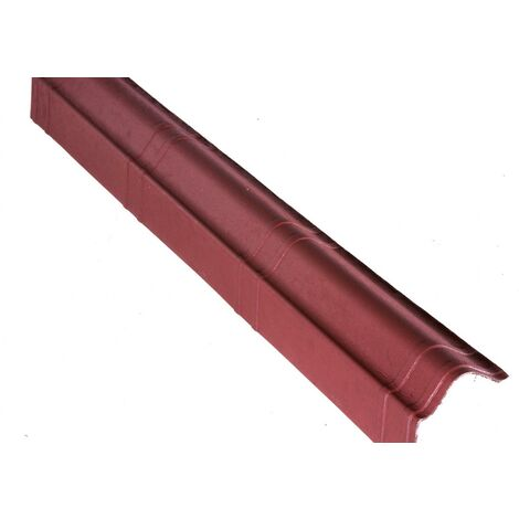 Rive pour tuile Onduvilla 1,04 m x 0,11 m Rouge classique