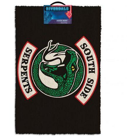 Riverdale South Side Serpents Doormat (One Size) (Black)