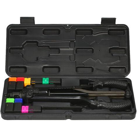 Rivet Ecrou Outillage Manuel De Riveteuse Filete Kit Avec Ecrou Rivetage 7Pcs Metrique M3 M4 M5 Mandrin M6 M8 M10 M12 Kit D'Installation