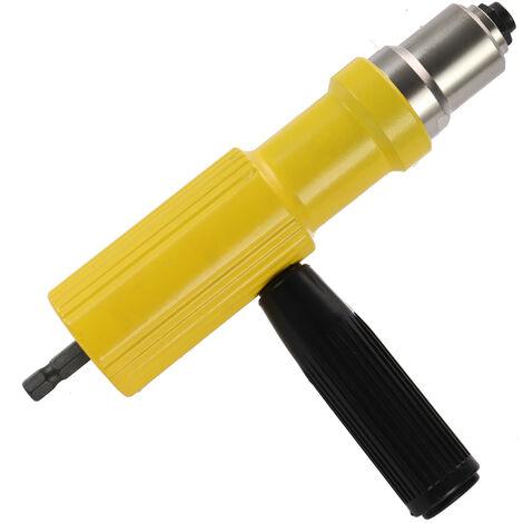 Rivet elektrischen Wandlerkopf Nieten Maschine-Schnittstellen geeignet 3.2-4.8mm Niet gelb