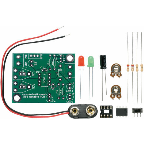 RK Education 555 timer Astable Project - Economy