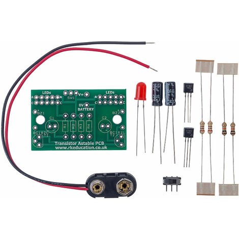 RK Education Transistor Astable Project - Economy