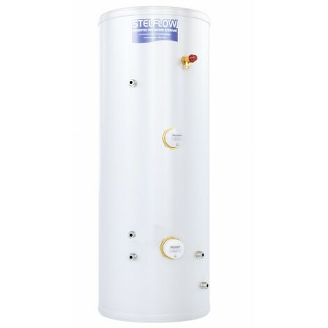 """main image of """"RM Cylinders Stelflow Stainless Steel Indirect Slimline Unvented Cylinder 90 Litre"""""""