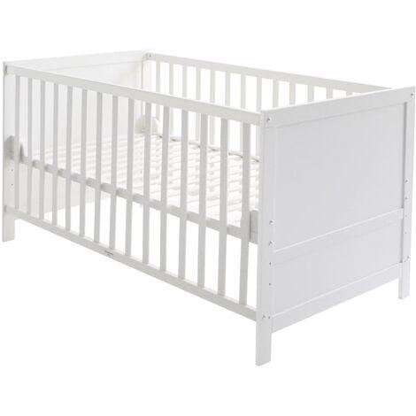 roba Cuna de bebé y cama junior Combi blanca