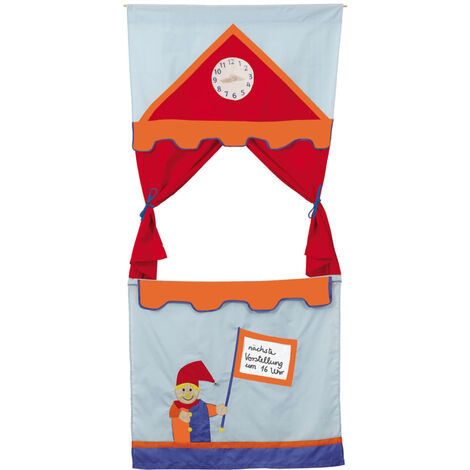 roba Doorway Puppet Theatre Red - Red