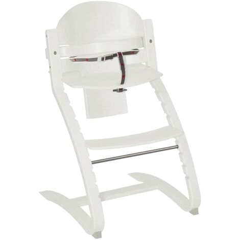 roba Evolutionary Highchair Move Up with Steps White