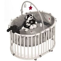 roba Laufstall-Set Oval Rock Star Baby 1