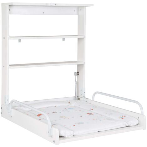 roba Wall Folding Changing Table Dancing Bird