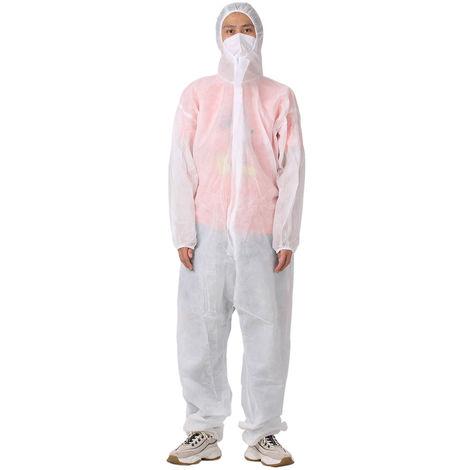 Robes D'Isolement Jetables Non Steriles, Tissu Non Tisse, L