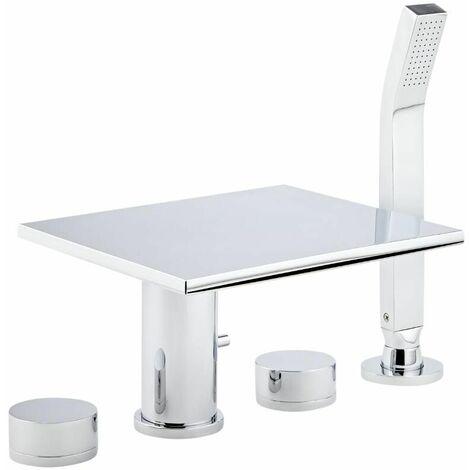 robinet cascade pour baignoire avec douchette moderne. Black Bedroom Furniture Sets. Home Design Ideas