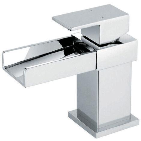 Robinet classique pour vasque salle de bain bec incliné