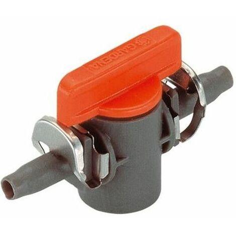 Robinet d'arrêt micro-drip 4,6mm (2 pièces)