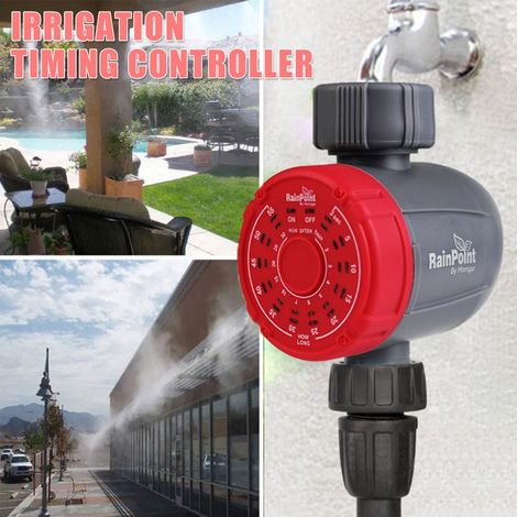 Robinet d'arrosage électronique d'arrosage de jardin électronique d'irrigation de minuterie d'eau Hasaki