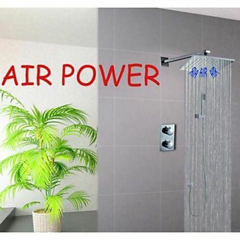 Robinet de douche thermostatique sortie d'eau en pluie