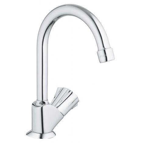 Robinet de lavabo et/ou lave mains bec haut mobile Costa L 20393001