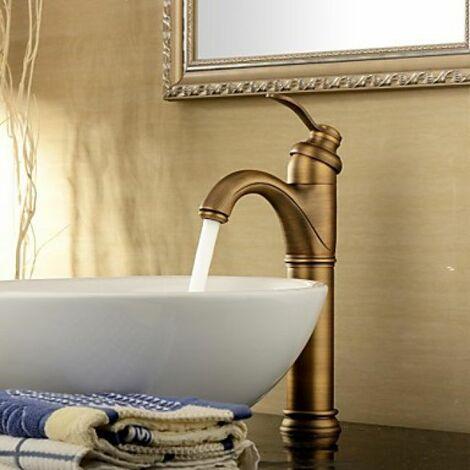 Robinet de lavabo style antique de hauteur 325 MM