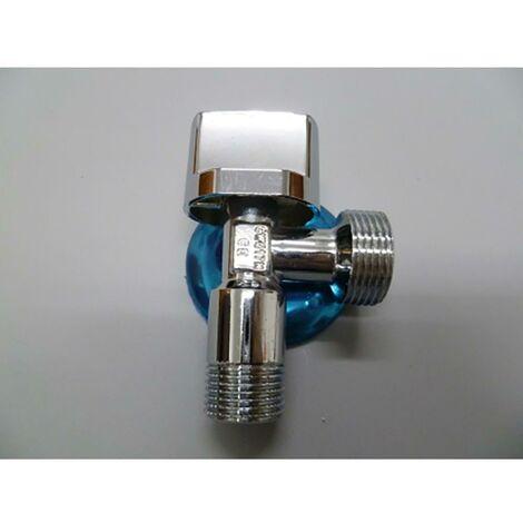 Robinet de machine � laver Fast 1/2X3/4' Chrome Brass Saneaplast 170218