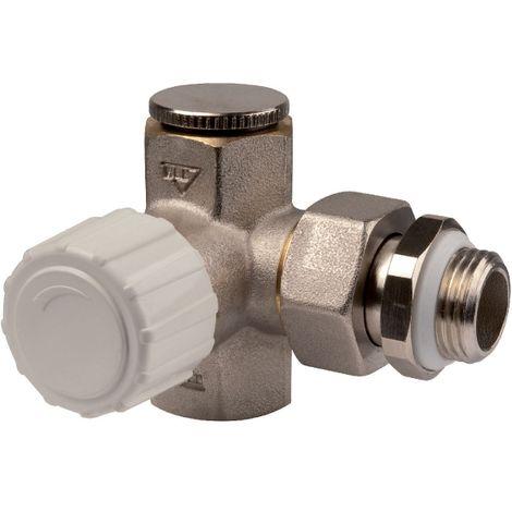 Robinet de radiateur thermostatisable réversible - M 1/2' - RBM