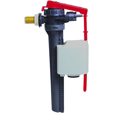 Robinet flotteur alimentation latérale/servo-valve - robinet Jollyfill lateral 3/8 laiton - Wirquin - 16300002