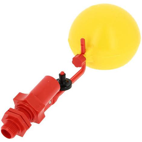 Robinet flotteur PVC de réservoir 15-21 avec boule+ bouchon