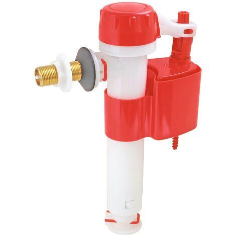 """Robinet flotteur réversible pour alimentation WC - Raccord laiton M12/17 (3/8"""")"""