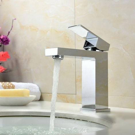 Robinet lavabo mitigeur sophistiqué