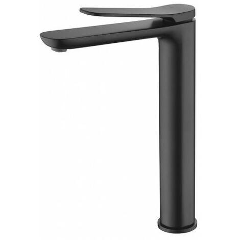 Robinet lavabo noir haut Imex - Série Dinamarca