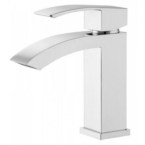 Robinet lavabo salle de bain debout cascade lumo