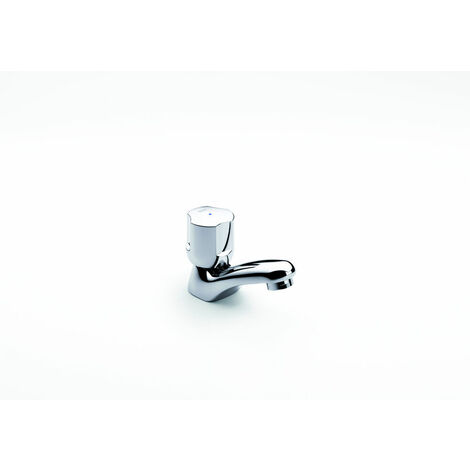 Robinet lave-mains bec fixe - eau froide - Niagara - chrome