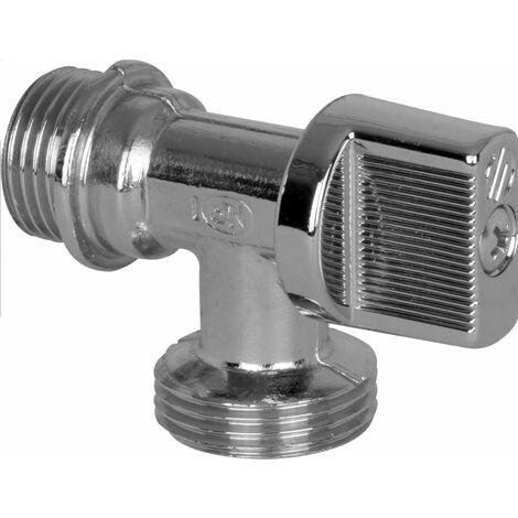 Robinet machine a laver ARCO 1/4 de tour 15x21 20x27 L94, Ref.DEF728U