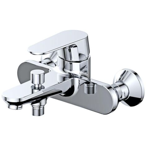 Robinet mitigeur bain/douche mural BRIXTON pour salle de bain design
